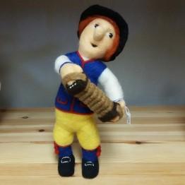 Nåltovad docka, Dragspelaren från Rättvik