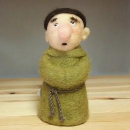 Nåltovad docka, Munken