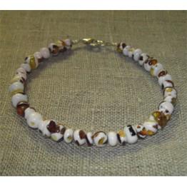 Armband med Mosaikbärnsten.